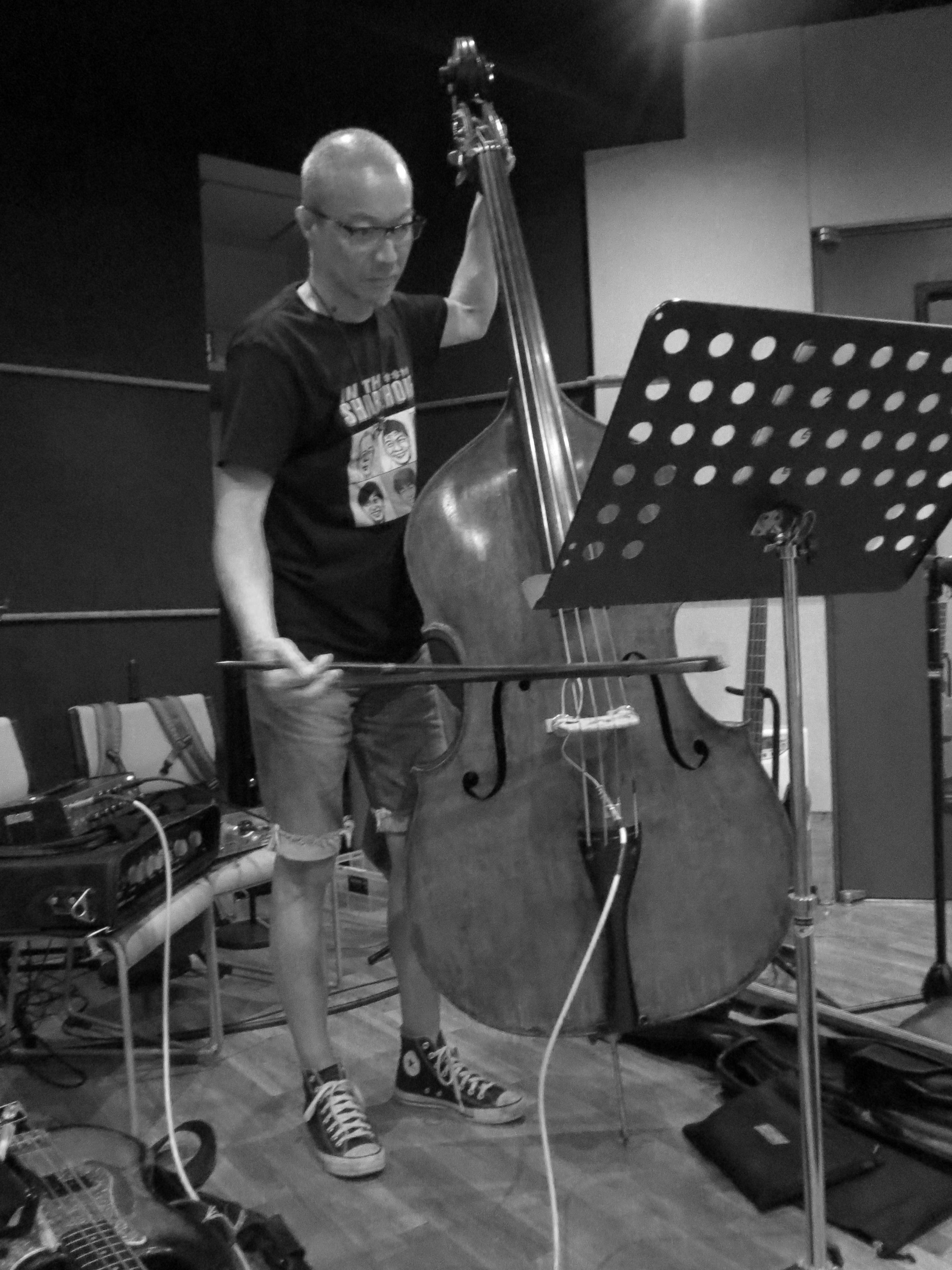 Dual Voice Recording Shigeru Watanabe on Bass