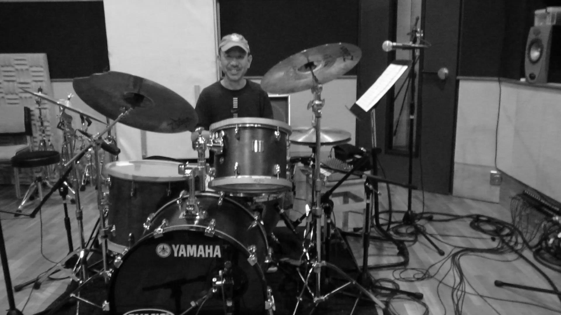 Dual Voice Recording Masaharu Ishikawa on Drums